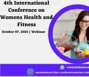 4th International Conference on Women's Health and Fitness
