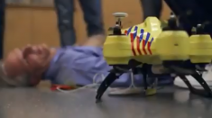 Life-Saving Technology - Development as first aid revolution with ambulance drone