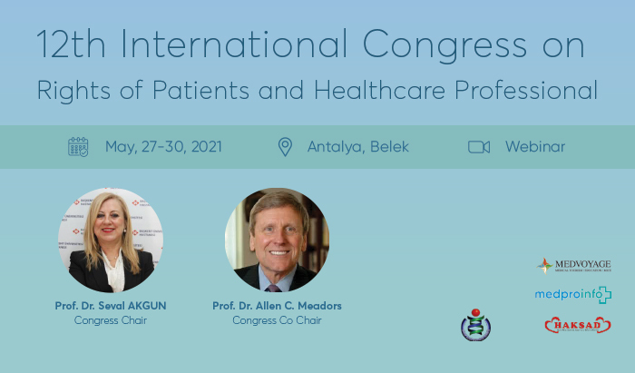 12th International Congress on Rights of Patients and Healthcare Professional